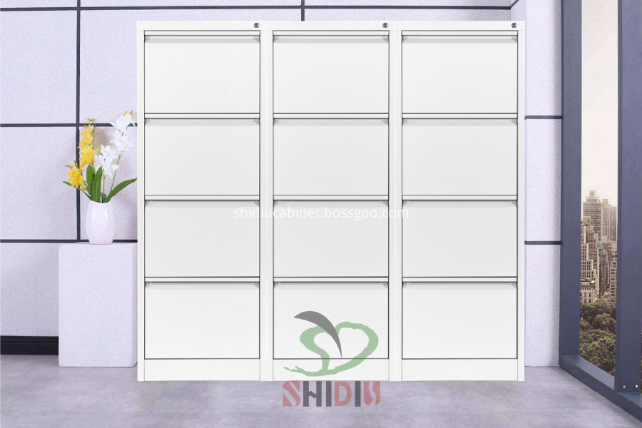White Office Filing Cabinet