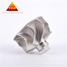 Dessin de la turbine turbo CoCrW AMS 5387 personnalisée