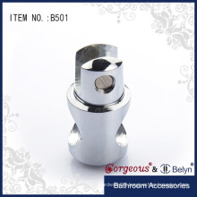 glass bathroom door connecting fittings pipe clamp