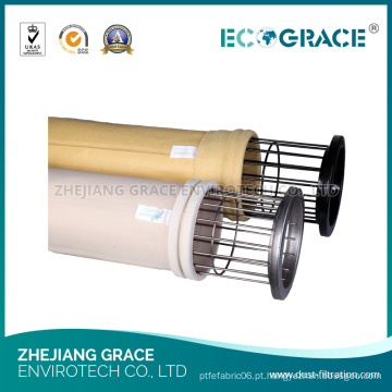 Peúga industrial de pano do Polyimide do filtro do coletor de poeira