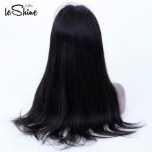 Non transformés Vierge Remy Cheveux 130% Densité Péruvienne Droite 14'16'18 '' Full Lace Wig Wholesale