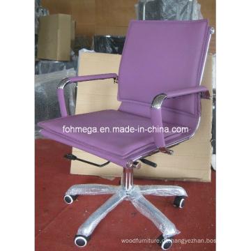 Lila gepolsterte Eames Bürostab Stuhl (FOH-MF26-B)