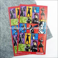 kids cartoon sticker/cartoon design sticker/kids cartoon design sticker