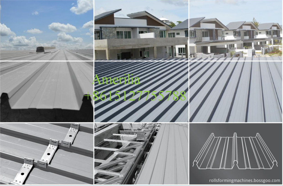 Application Of Colour Lok Roof Panel