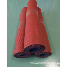 NBR double color punching sports mat