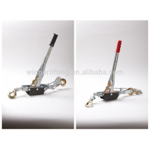 china supplier ratchet type hand manual puller