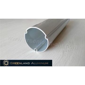 Tubo de dirección de aluminio de la ventana automática con plata anodizada