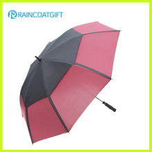 30inch Double Canopy Windproof Straight Golf Umbrella