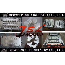 Fábrica de moldes de inyección de plástico de moldes de tapa de botella de alta calidad en Taizhou