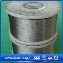 Alambre de acero inoxidable del fabricante 0.5mm y 10 gauge