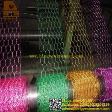 Flower Basket Paint Hexagonal Wire Netting
