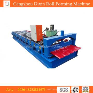Máquina formadora de rolos de chapa de aço frio colorido