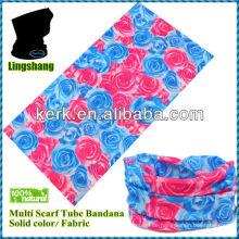 LSB125 Ningbo 100% Polyester Multi Tube Schal Haar nahtloses Kopftuch
