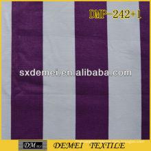 100% printed cotton fabric striped