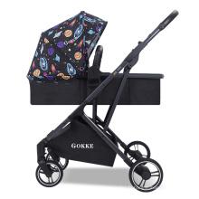 Produits pour bébés en ligne 2020 Nouveau luxe poussette de voyage pour bébé poussette Buggy 2 en 1