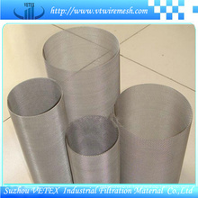 Cilindro de filtro de aço inoxidável 316