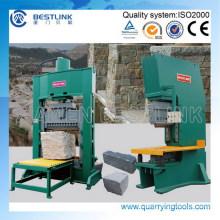 Divisor hidráulico de bloques de piedra y máquina de división