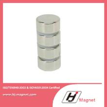 Постоянный спеченные редкоземельных цилиндра неодима железа бора неодимовый магнит