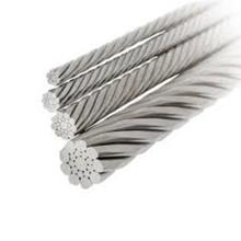 304 câble métallique en acier inoxydable 7x7 6.0mm
