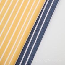 ткань одеяла флиса микровелхата полиэстера в цветную полоску