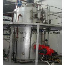 Chaudière à vapeur verticale à tube à tige
