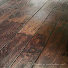 Handscraped American Walnut wooden flooring