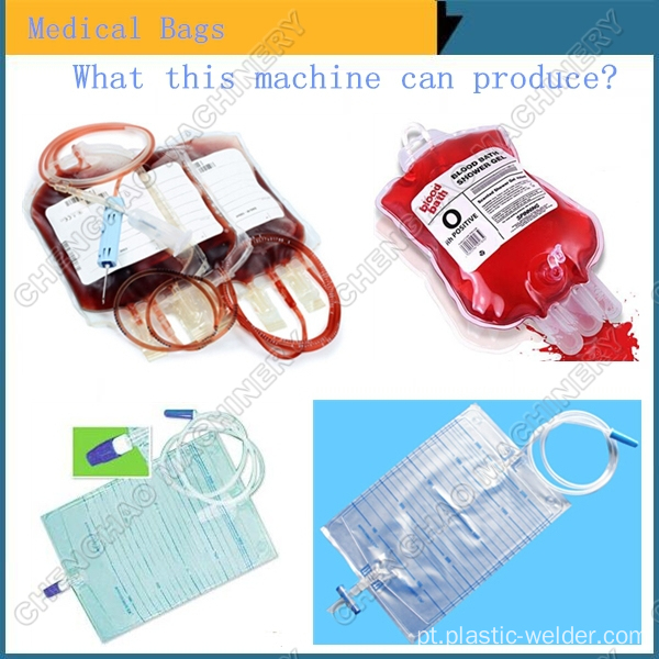 10KW de alta freqüência Medical Blood Bag PVC soldagem máquina