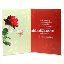 Wholesale Decoration Handmade Birthday Greeting Card