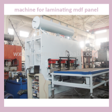 Machine pour le laminage du panneau mdf / machine à stratifier / ligne de panneaux stratifiés haute pression