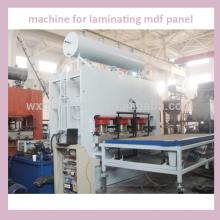 Máquina para laminação de painel mdf / máquina de laminação / linha de placa de laminado de alta pressão