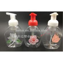 Botella de la bomba de la espuma plástica de la calidad del último diseño de la venta superior