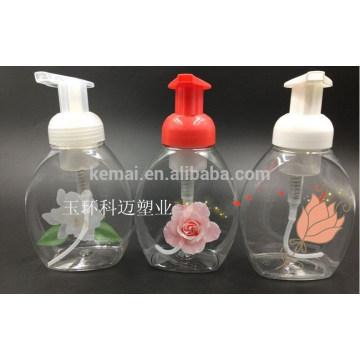 Top sale dernière conception bouteille de pompe à mousse en plastique de qualité excellente