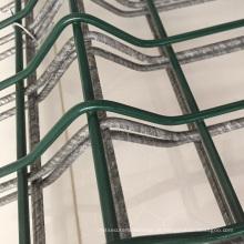 A cerca curvada 3D exterior da rede de arame / soldou o preço dos painéis da cerca do jardim