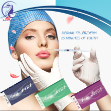 100% Original for Ha Dermal Filler Cross Linked hyaluronic acid lip fillers Injection supply to Suriname Exporter