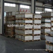 China-Lieferanten 5083 Aluminium-Platte für kryogene Gefäß