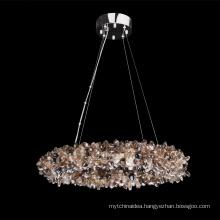 luxury k9 crystal chandelier lighting chrome chandeliers pendant lights for home