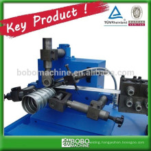 Metal spiral duct forming machine