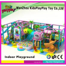 Китай Производство Детская крытая детская площадка Большие слайды для продажи