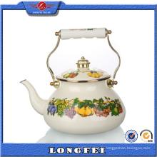 2015 Nouveaux produits Bouilloire à thé en émail rustique décoratif unique