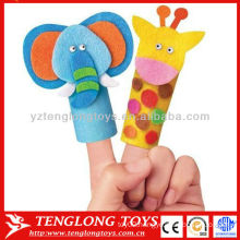 Baby Preschool toy forest animal finger puppet