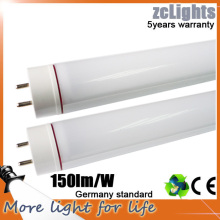 1200mm 4FT 18W 150lm / W Chine Lampes LED T8 LED Tube