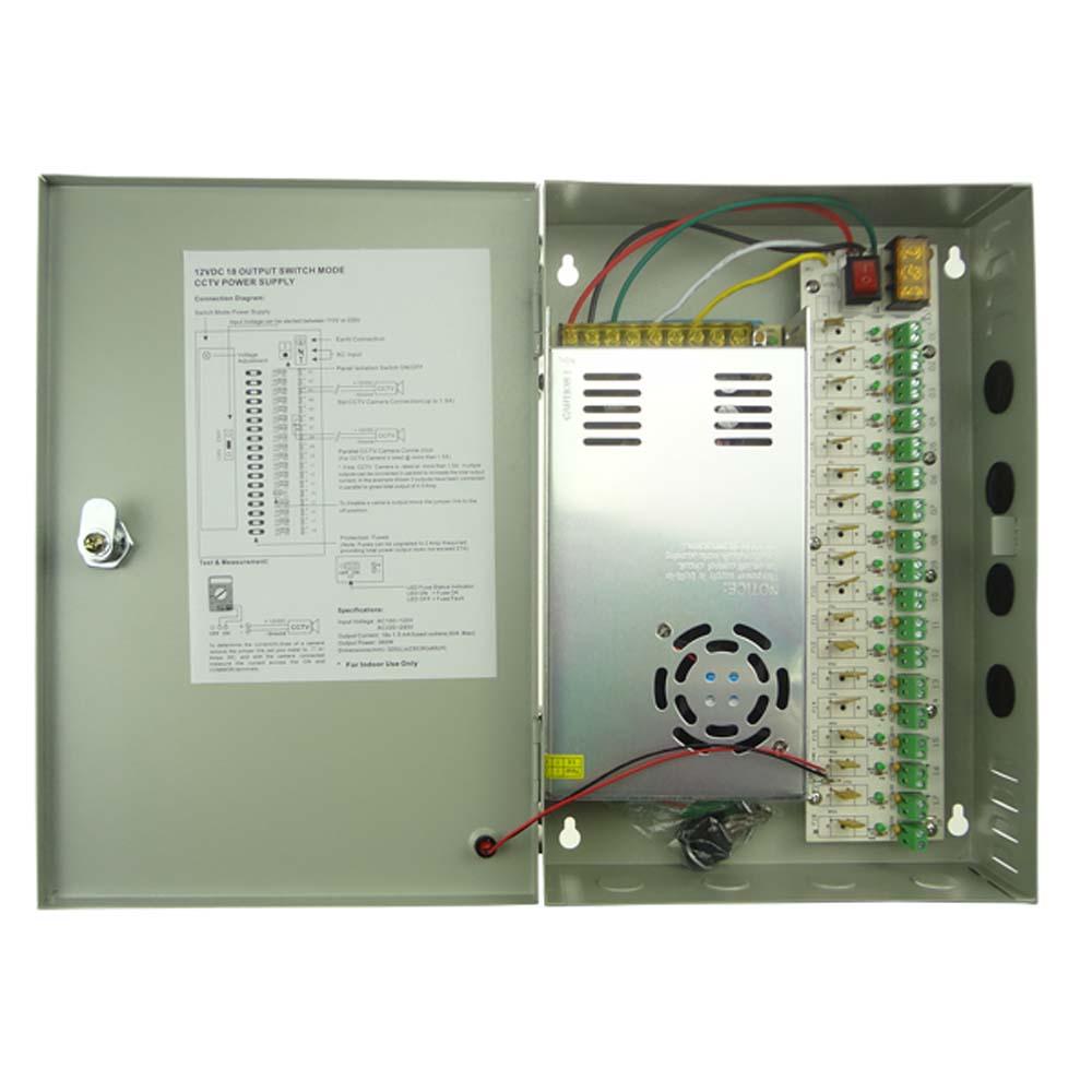12v 30a Cctv Power Supply Box