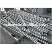 Conical hot dip galvanized steel posts