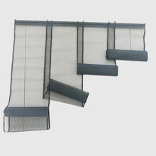 4pc lamella fiberglass fabric door curtain