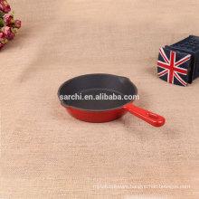 Enamel iron cast flat bread pan