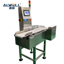High quality automatic  conveyor belt weight checker machine