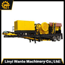 powered by AC motor, low price for diesel engine small mobile stone crusher