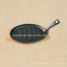 Hierro fundido Mini Frypan con revestimiento Preseasoned