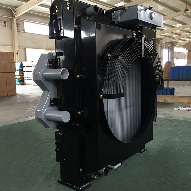 Combined Oil Radiator