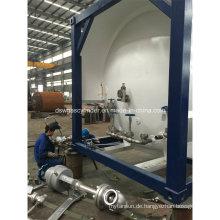 20-350m3 Kapazität Lox / Lco2 Kryogener Flüssigkeitsbehälter